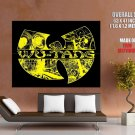 Wu Tang Clan Logo Art Group Band Hip Hop Music Rap GIANT Huge Print Poster