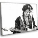 Jimi Hendrix Singer Guitarist Rock Music 30x20 Framed Canvas Art Print