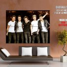 One Direction Funny Pop Band Music Giant Huge Print Poster