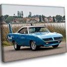 Plymouth Road Runner Superbird Muscle Car 30x20 Framed Canvas Art Print