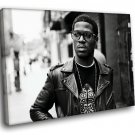 Kid Cudi Hip Hop Music 30x20 Framed Canvas Art Print