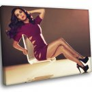 Katy Perry Hot Sexy Legs Pop Singer Music 50x40 Framed Canvas Print