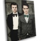 Panic At The Disco Spencer Smith Brendon Urie Band 30x20 Framed Canvas Print