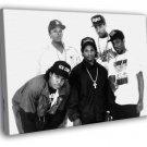 NWA Ice Cube Dr Dre Eazy E DJ Yella MC Ren 30x20 Framed Canvas Print