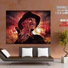 A Nightmare On Elm Street Freddy Krueger Movie Giant Huge Print Poster