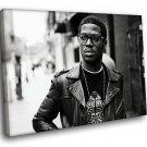 Kid Cudi Hip Hop Music 40x30 Framed Canvas Art Print