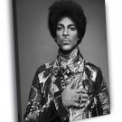 Prince Rogers Nelson Singer Music Funk Retro 50x40 Framed Canvas Print