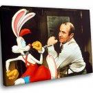 Who Framed Roger Rabbit Eddie Valiant Comedy Movie 40x30 Framed Canvas Art Print