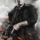 Bruce Willis Legend Actor Super Star Battlefield Gun 32x24 Print Poster