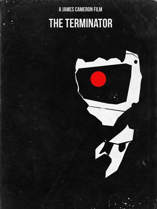 The Terminator 1984 Movie James Cameron Art 32x24 Print Poster