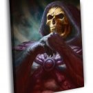 Masters Of The Universe Skeletor Awesome Art 50x40 Framed Canvas Print