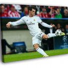 Gareth Bale Volley Real Madrid Soccer Football 30x20 Framed Canvas Print