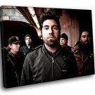 Deftones Band Alternative Metal Music 30x20 Framed Canvas Art Print