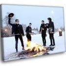 Fall Out Boy Rock Band Pop Punk Music 50x40 Framed Canvas Art Print