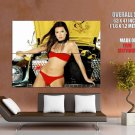 Danica Patrick Auto Racing Driver Sexy Bikini Giant Huge Wall Print Poster
