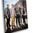 Sleeping With Sirens Band Post Hardcore Music 50x40 Framed Canvas Art Print