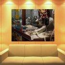 Predator Alien Et Stormtrooper District 9 Painting Huge Giant Print Poster