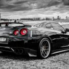 Nissan Skyline GTR R35 Tuning Auto Racing Road Car 16x12 Print Poster