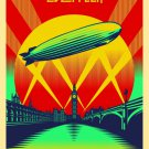 Led Zeppelin Celebration Day Rock Band Art Music 32x24 Wall Print POSTER