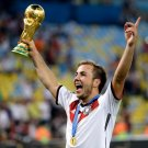 Mario Gotze Final Victory Gold Medal Germany World Cup 16x12 Print POSTER