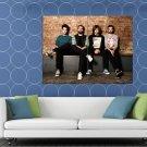 Bastille Dan Smith Farquarson Wood Simmons Rock Band HUGE 48x36 Print POSTER