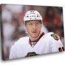 Marian Hossa Chicago Blackhawks Hockey Sport 30x20 Framed Canvas Print