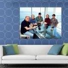 The Beach Boys Bruce Johnston Brian Wilson Rock Band HUGE 48x36 Print POSTER
