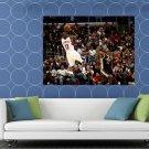 Jamal Crawford Fadeaway Shot Los Angeles Clippers HUGE 48x36 Print POSTER