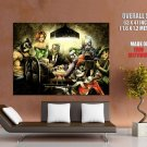 Batman Villains Cool Art Artwork Giant Huge Print Poster