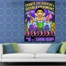 Chance The Rapper Art Rap Hip Hop Music Huge 48x36 Print Poster