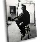 Johnny Cash Country Music Icon 30x20 Framed Canvas Art Print