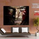 Spartacus TV Series Liam McIntyre Blood Portrait Actor GIANT Huge Print Poster