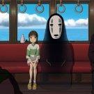 Spirited Away Ogino Chihiro Bou No Face Anime Movie 24x18 Wall Print POSTER