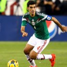 Rafael Marquez Dribbling Mexico FIFA World Cup Football 16x12 Print POSTER