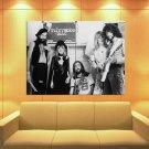 Fleetwood Mac Blues Pop Rock Band Music Bw Huge Giant Print Poster