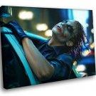 The Joker Batman The Dark Knight Movie Police Car 40x30 Framed Canvas Art Print