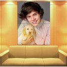 One Direction Harry Styles Puppy Cute Music Rare Huge Giant Print Poster