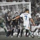 Cristiano Ronaldo Free Kick Real Madrid Football 24x18 Print Poster