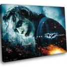 The Dark Knight The Joker Heath Ledger 30x20 Framed Canvas Art Print