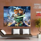 Lego Star Wars Characters Amazing Video Game Art GIANT Huge Print Poster