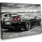 Nissan Skyline GTR R35 Tuning Auto Racing Road Car 30x20 Framed Canvas Art Print