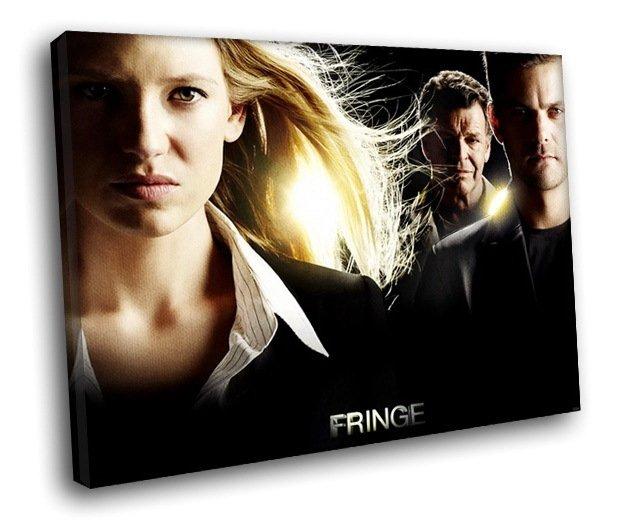 Fringe TV Series Cast Anna Torv As Olivia Dunham 50x40 Framed Canvas Art Print
