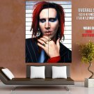 Marilyn Manson Portrait Heavy Metal Shock Rock 2014 GIANT Huge Print Poster