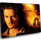 Orlando Bloom Pirates Of The Caribbean Will Turner 50x40 Framed Canvas Art Print