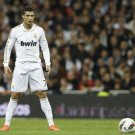 Cristiano Ronaldo Free Kick Real Madrid Football 16x12 Print Poster