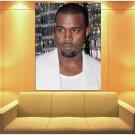 Kanye West Portrait Hip Hop Rap Music Singer Rare Huge Giant Print Poster