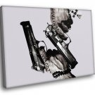 The Boondock Saints Guns Tattoo Movie 50x40 Framed Canvas Art Print