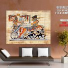 Egyptian Papyrus Painting Art Giant Huge Wall Print Poster