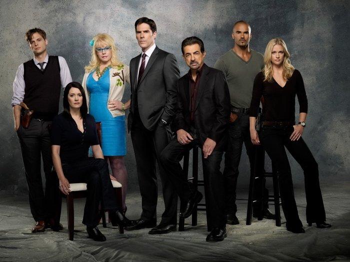 Criminal Minds Cast Characters TV Series 32x24 Print Poster
