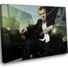 Heath Ledger Actor The Dark Knight Joker 50x40 Framed Canvas Art Print